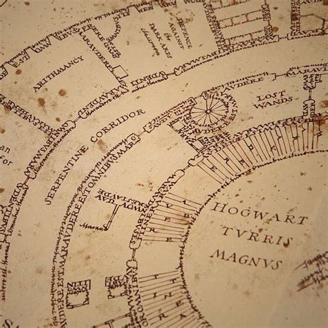 Marauders Map the marauders map footprints www imgkid the image