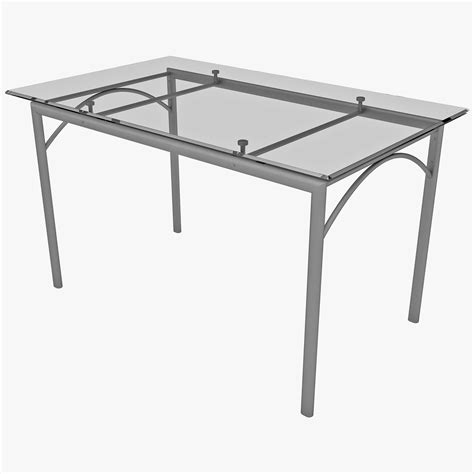 rectangular glass table top dining table 3ds rectangular dining table glass