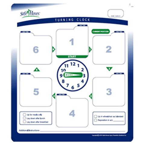 printable turning schedule clock turning clock deluxe