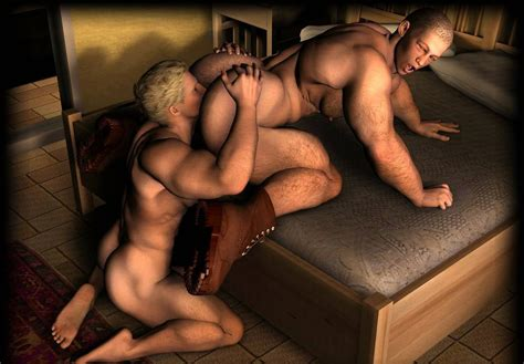 Hot Hunks Getting Nasty On D Gay Villa