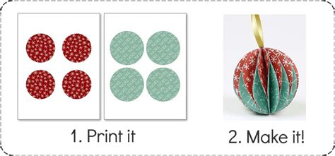 free printable christmas paper decorations easy to make christmas ornaments