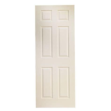 6 Panel Interior Doors White 6 Panel Interior Slab Door 24 Quot X 78 Quot White Rona