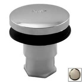 shop westbrass stainless steel bathtub drain toe plunger