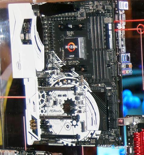 Asrock X370 Taichi Amd Am4 asrock biostar am4 motherboard specs new amd s3 0 radiator gamersnexus gaming pc builds