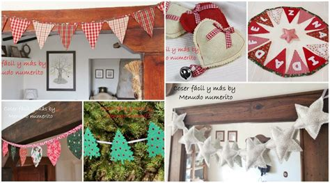 manualidades para decorar mi casa de navidad adornos de navidad 6 guirnaldas f 225 ciles para decorar tu