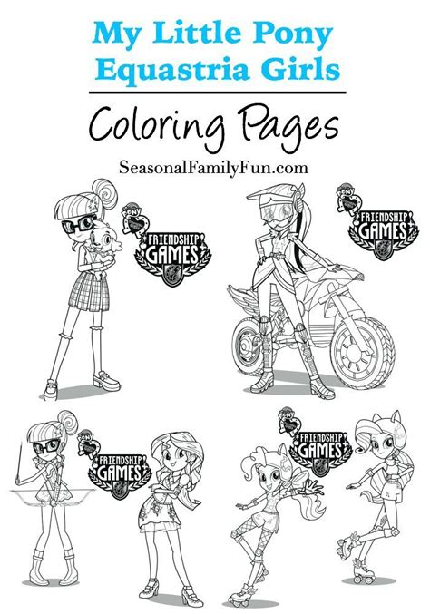 my little pony friendship games coloring page equestria girls coloring pages mylittlepony
