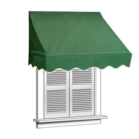 green awnings 4x2 green awning for window door canopy sun rain shade