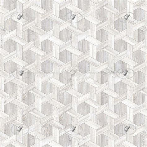White parquet geometric patterns texture seamless 20946