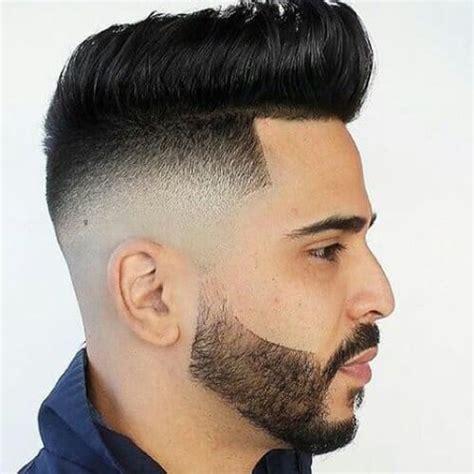 trendy bald fade  beard hairstyles men hairstyles
