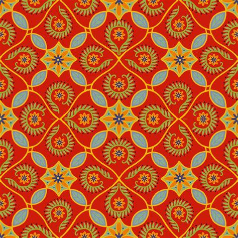 Leaf Upholstery Fabric Mexican Tile Wallpaper Wallpapersafari