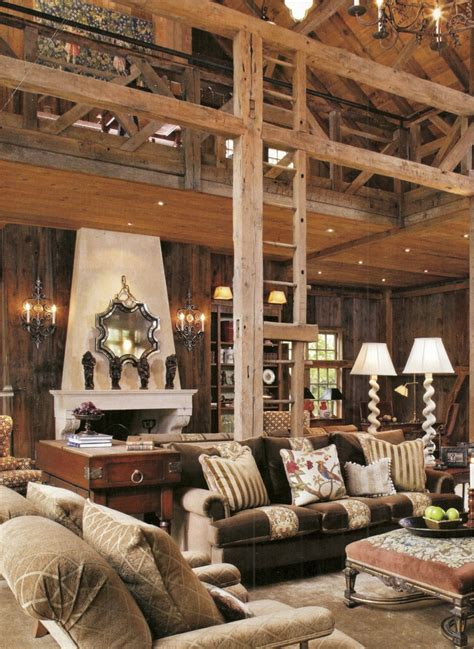barn living barn living room our barn home pinterest