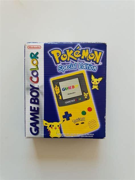 gameboy color pikachu edition limited edition nintendo boy gameboy color yellow