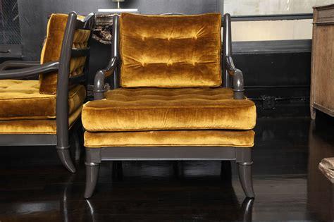 Syari Set Dm 6890 pair of arm chairs at 1stdibs