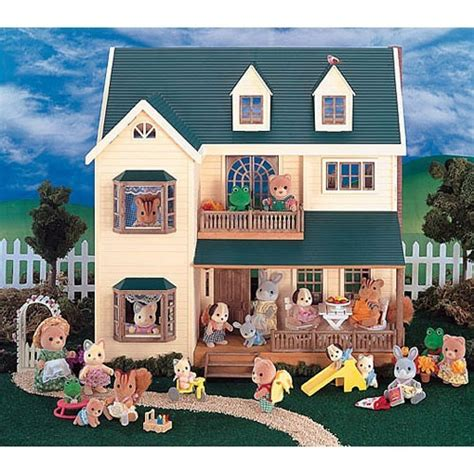 calico critters house calico critters deluxe village house educational toys planet