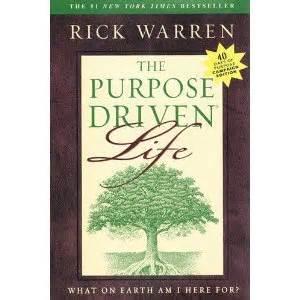 the purpose driven life 031033750x purpose driven life