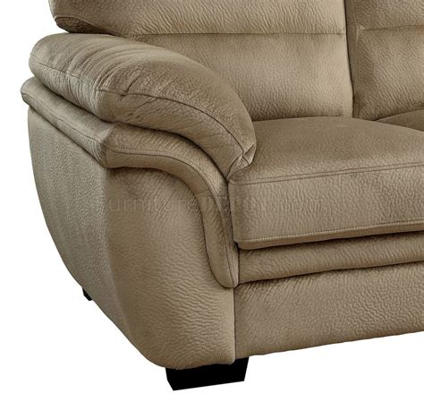 Microfiber Fabric For Sofa by Jaya Sofa Cm6503lb In Light Brown Microfiber Fabric W Options