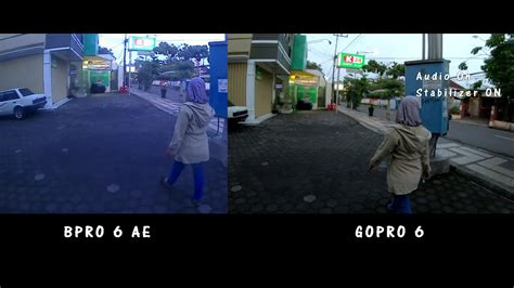 Bpro Vs Gopro low light test gopro 6 vs bpro 5 ae 7 jutaan vs 1 jutaan