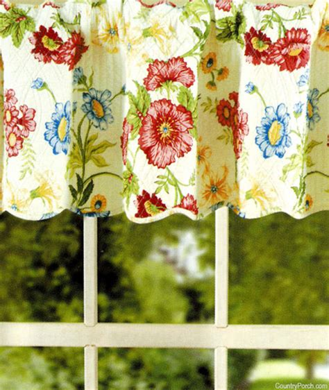 country curtains pembroke pembroke quilted curtain valance 60 quot x 15 quot