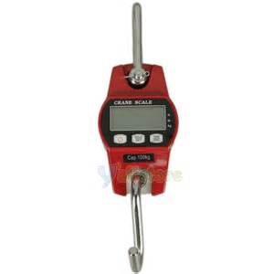 Mini Crane Scale by 100kg 200lb Digital Hanging Scale Portable Mini Crane