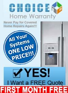 choice home warranty catalog