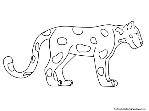 Jaguar Coloring Pages Free Printable Kids Coloring Pages Coloring Pages For Children