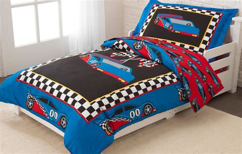 racing bedding kidkraft race car toddler bedding set