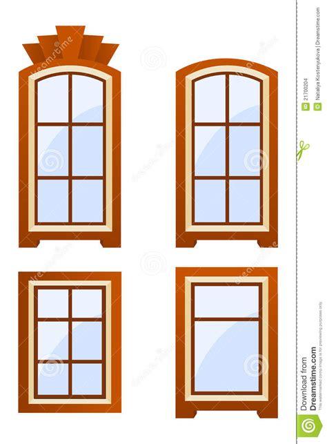 imagenes libres de ventanas ventanas de brown imagenes de archivo imagen 21700204