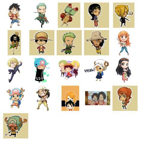 Stiker Anime One one stickers telegram