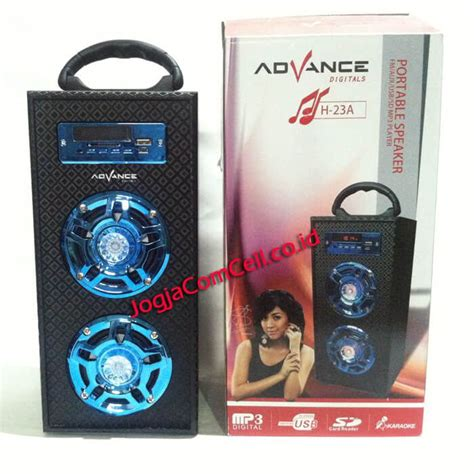 Advance Speaker H 24b Berkualitas speaker advance h 23a jogjacomcell co id