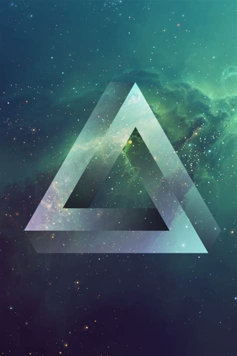 triangle galaxy wallpaper  wallpapers adorable