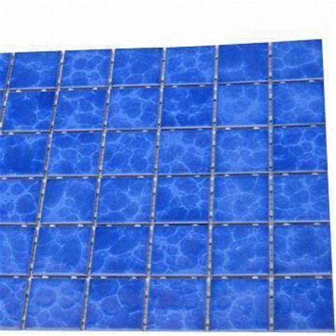 dot mounted bathroom tiles kiln blue color porcelain