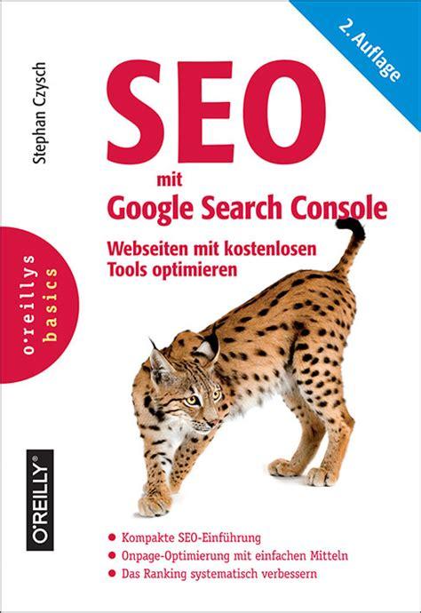 Search Mit Buchtipp Seo Mit Search Console Werbeagentur Berlin