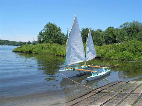 bantam lake boat launch trimaran heeling angles