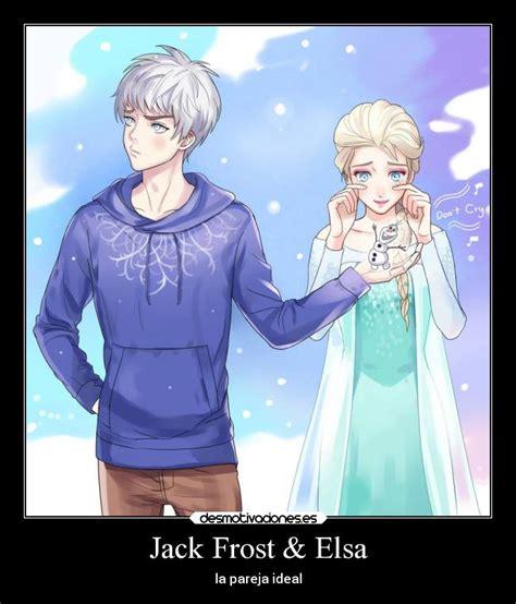 imagenes de jack y elsa jack frost elsa desmotivaciones