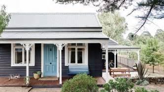 daylesford cottage exterior colour scheme architecture in australia