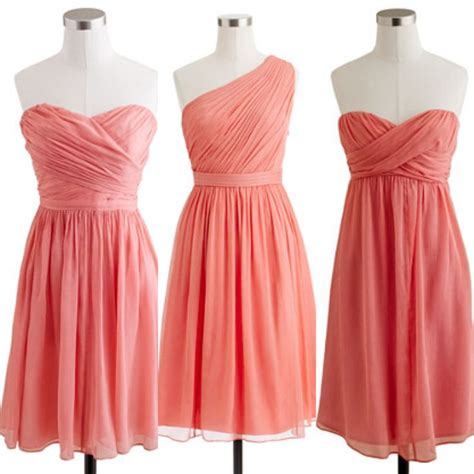 Coral Bridesmaid Dress by Coral Bridesmaid Dresses J Crew Wedding Stuff