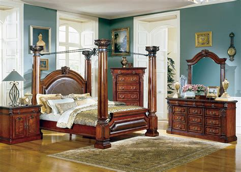 renaissance bedroom furniture neo renaissance king canopy bedroom suite