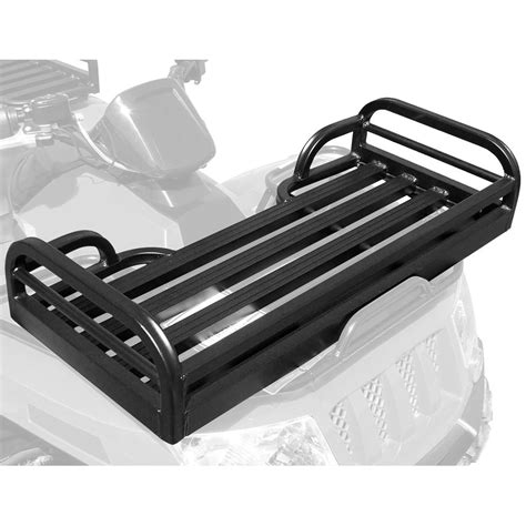 great day mighty lite front rack atv utility basket mlfr50