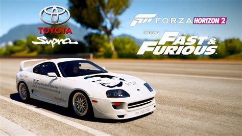 Toyota Supra Ff Forza Horizon 2 Toyota Supra Ff Edition 1 000hp 441 Km