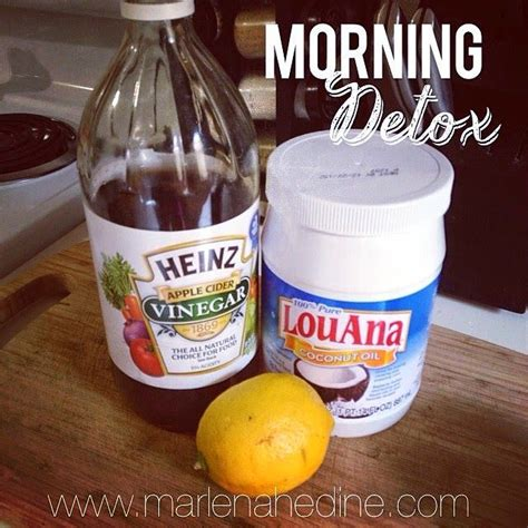 Honey Vinegar Water Detox by Morning Detox Drink Warm Lemon Water Benefits Cleanse