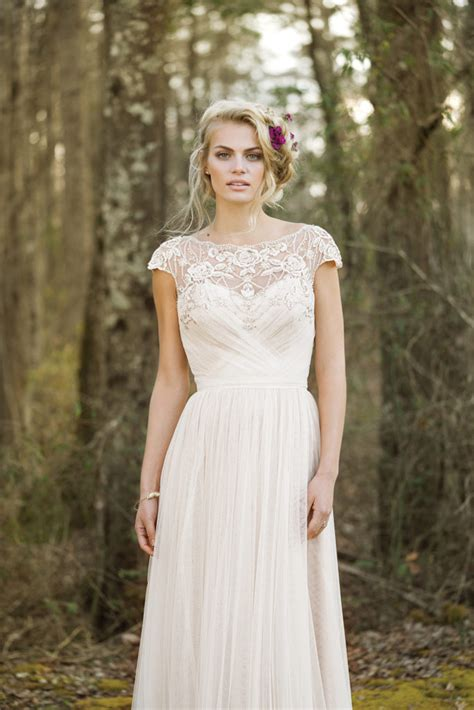 Chic Wedding Dresses by Boho Chic Wedding Dresses The Blushing Boutique