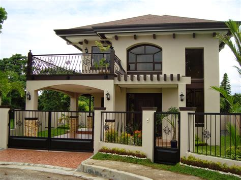 simple 2 storey house design 30 beautiful 2 storey house photos bahay ofw