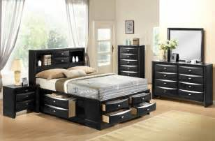 global furniture black bedroom set