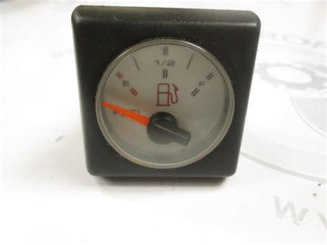 boat gauges square 2 7 16 quot white face square fuel gauge 1990 bayliner capri