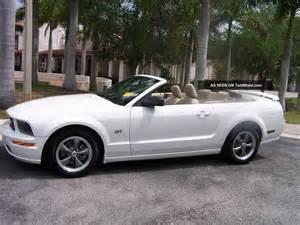 2005 Ford Mustang Convertible 2005 Ford Mustang Gt Convertible Florida Car Serviced At