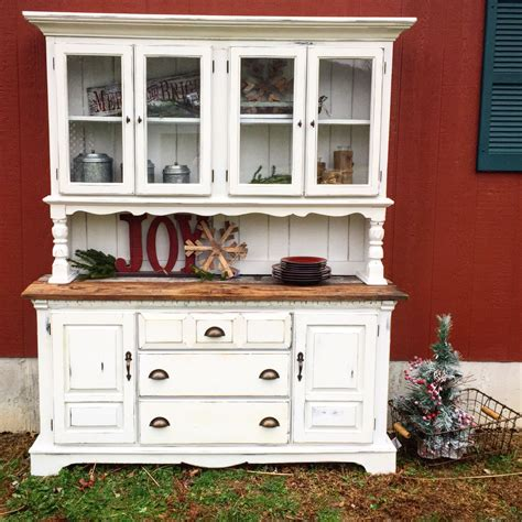 country china cabinet rustic white farm style china cabinet with barnwood yes