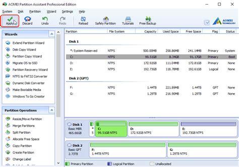 format gpt disk windows 10 windows 10 disk management the built in disk partition