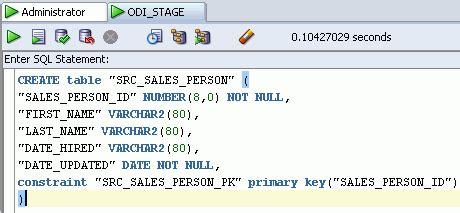 online tutorial rdbms odi online training creating rdbms schema for odi source