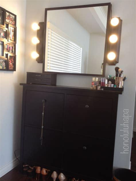 diy vanity bellesabytheresa my diy lighted makeup vanity makeup vanity