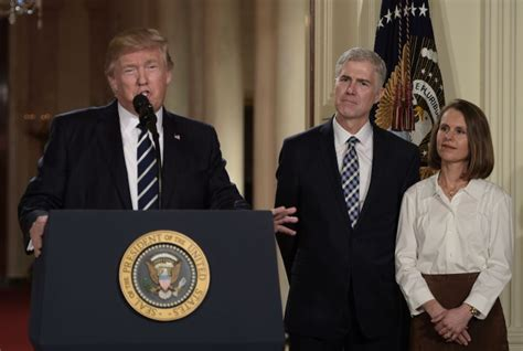 judge neil gorsuch is a front runner for trump s supreme judge neil gorsuch is president trump s pick for the
